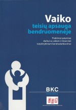 Spanjaard, Krooi & Blazaite 2008 Vaiko teisiu apsauga bendruomeneje Cover